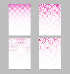 Abstract rounded square pattern background poster vector