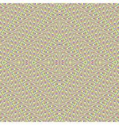 Design seamless colorful zigzag geometric pattern vector