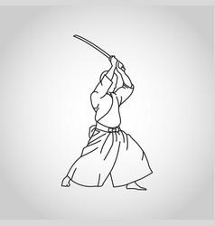 Iaido logo icon vector