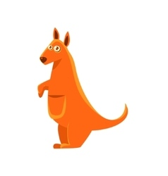 Kangaroo Toy Exotic Animal Drawing vector image