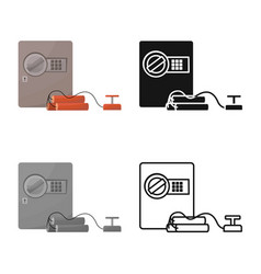 Safe and dynamite logo vector