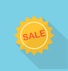 sale icon set of great flat icons with style vector image