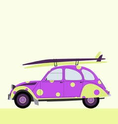 Surf funny car vector