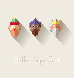 The three kings orient vector