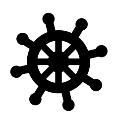 timon ship maritime icon vector image