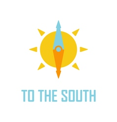travel logo template vector image vector image