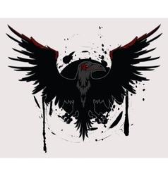 Dark Raven vector image vector image