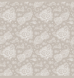 beige background with patterns vector image