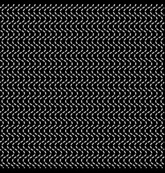 Wavy dashed lines repeatable pattern vector
