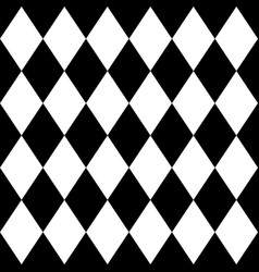 tile black and white background pattern vector image vector image