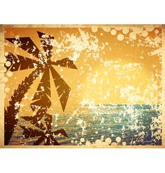 Vintage Summer vector image vector image