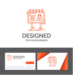 business logo template for advertisement vector image