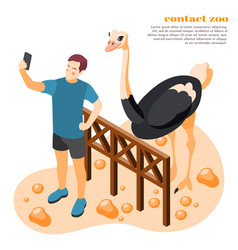 Contact zoo isolated composition vector
