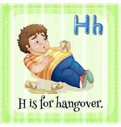 Hangover vector