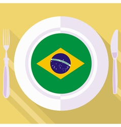 kitchen of Brazil vector image