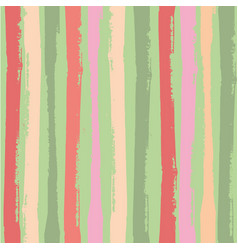 Modern vertical grunge stripes in vibrant tropical vector