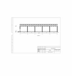 Project constructive scheme the vector