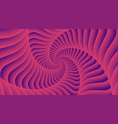 Tunnel vortex spiral abstract background vector