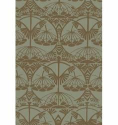 Art Nouveau pattern vector image vector image
