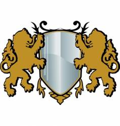 crest vector image vector image