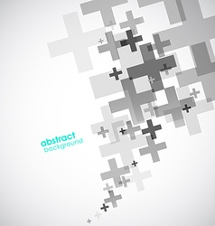 Abstract background created with plus signs vector