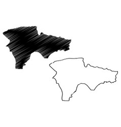 Agri map vector