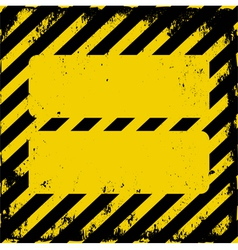 danger area vector image