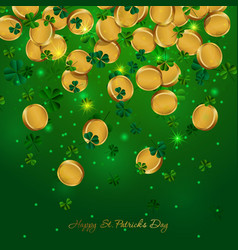 Money patricks day vector