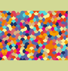 pieces in a puzzle abstract background for design vector image
