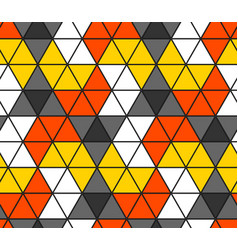 seamless triangle pattern geometric wallpaper of vector image