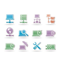 Server and hosting objects vector