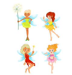 Set fairy character vector