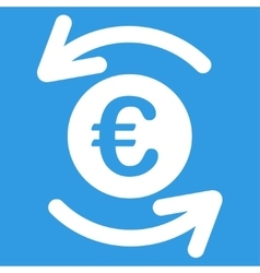 Update Euro Balance Icon vector