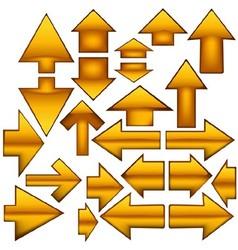 Glass Arrows vector image vector image