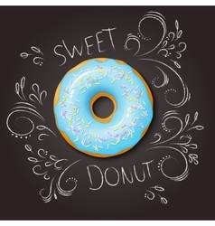 Realistic isolated sweet vector