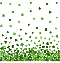Horizontal seamless pattern for St Patricks day vector image
