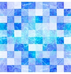 Seamless mosaic background vector image vector image