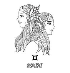 2 elfs vector image