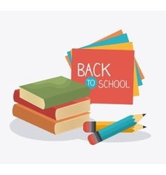 Back to school season vector image