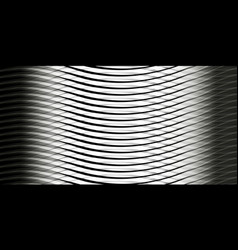 Background of gray waves vector