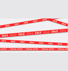 big sale discount mega sale special offer red and vector image
