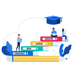education and knowledge concept vector image