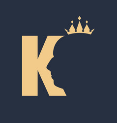 king royal luxury vector image