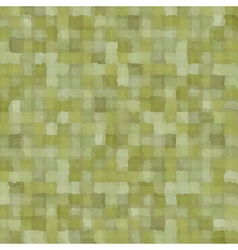Mixed green patchwork blurry square pattern vector