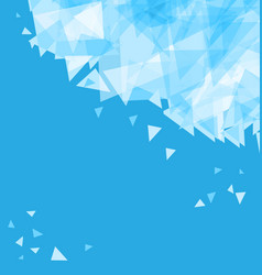 modern abstract background chaotically moving vector image
