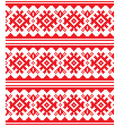 Scandinavian nordic seamless pattern vector