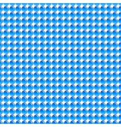 Seamless tiled texture made of glassy spheres vector image