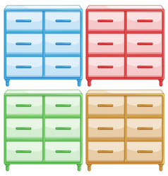 Set different colored draws vector