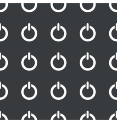 Straight black power pattern vector