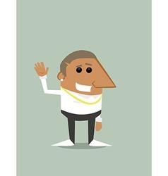 Stylish Cartoon Black guy vector image